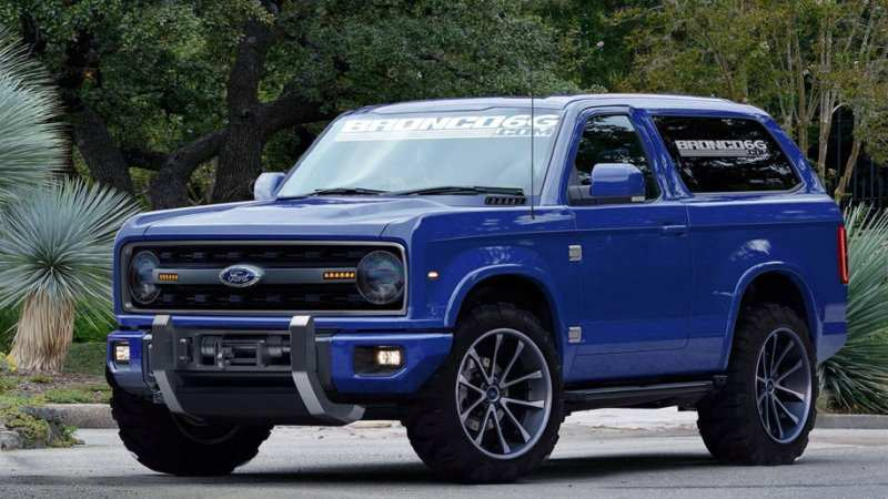 22 New Ford Bronco 2020 Release Date Concept And Review