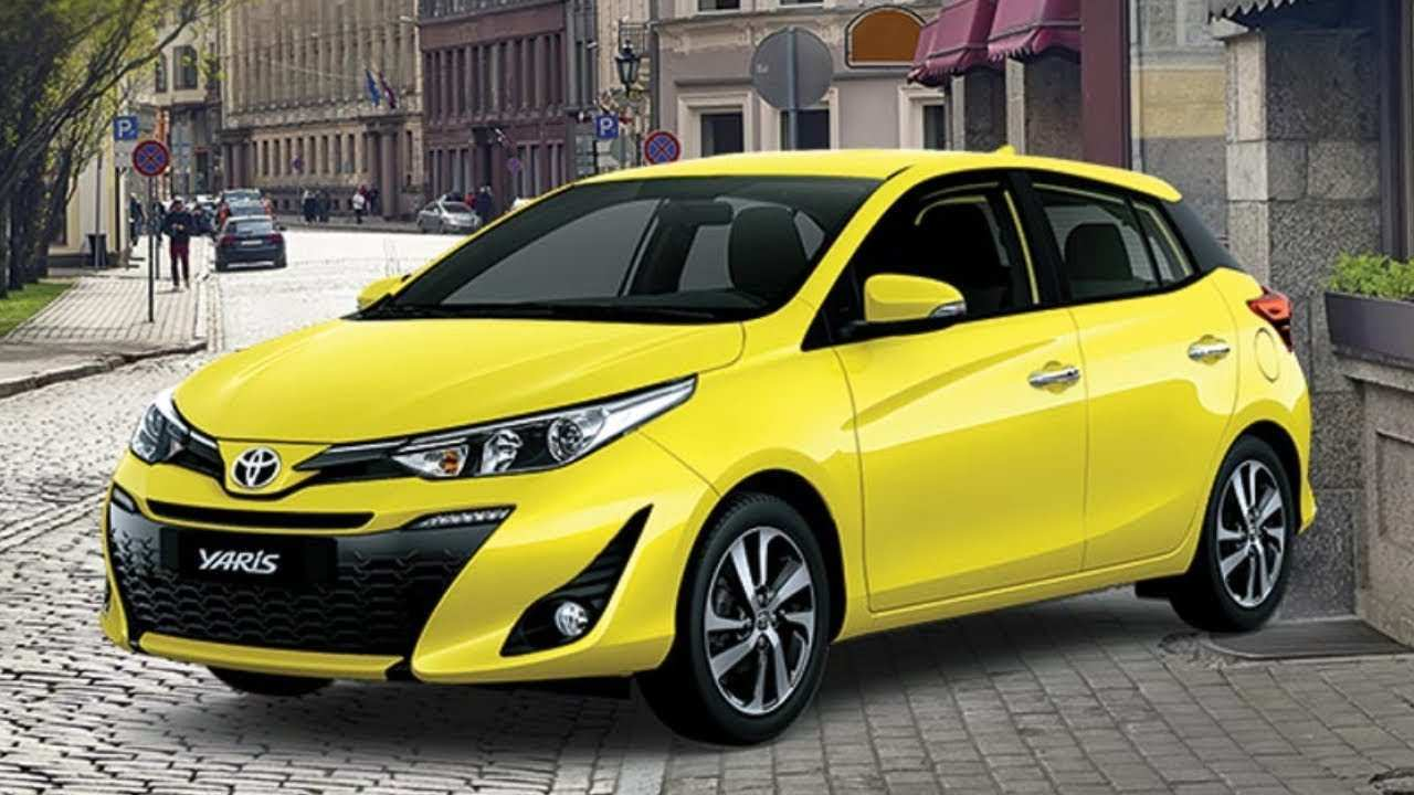 22 New Toyota Yaris 2019 Interior Model
