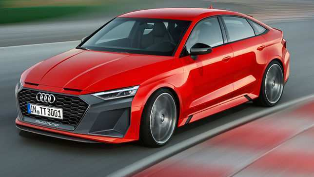22 The 2020 Audi TTS Spy Shoot