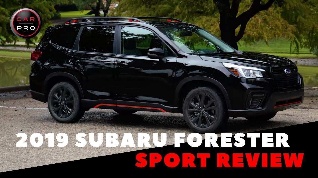 22 The Best 2019 Subaru Forester Sport 2 First Drive