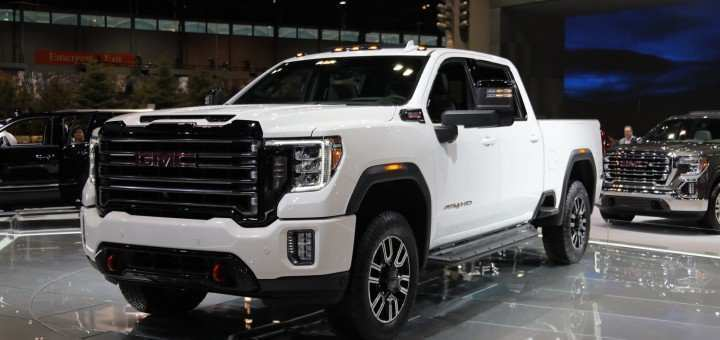 22 The Best 2020 GMC Sierra Hd At4 Wallpaper