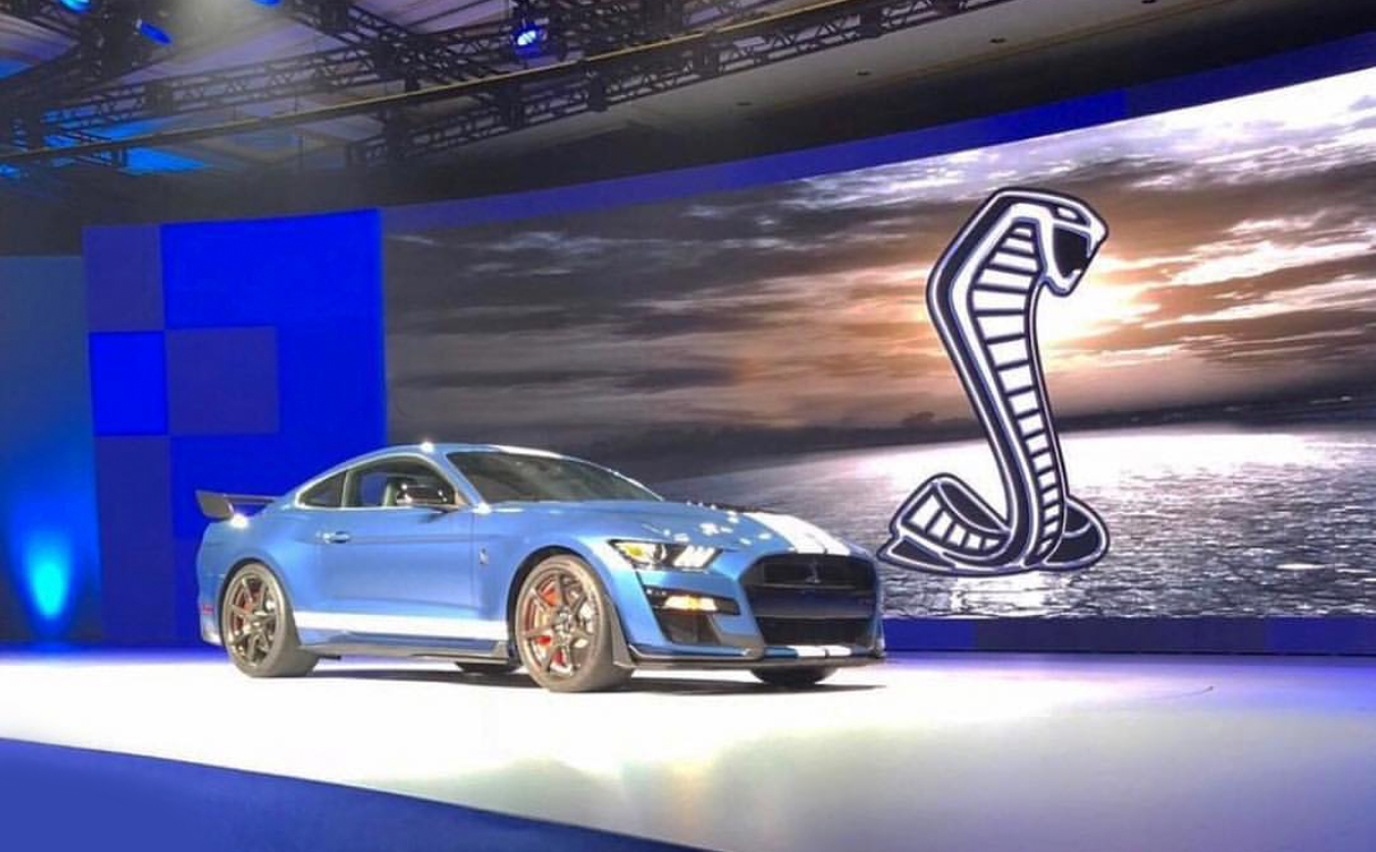 23 A 2019 Ford Mustang Shelby Gt500 Model