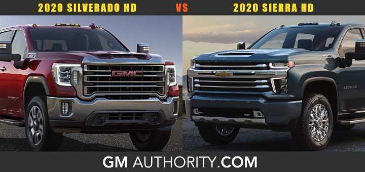 23 A 2019 Vs 2020 GMC Sierra Hd Performance