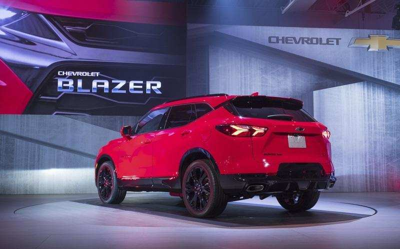 23 A 2020 The Chevy Blazer Redesign