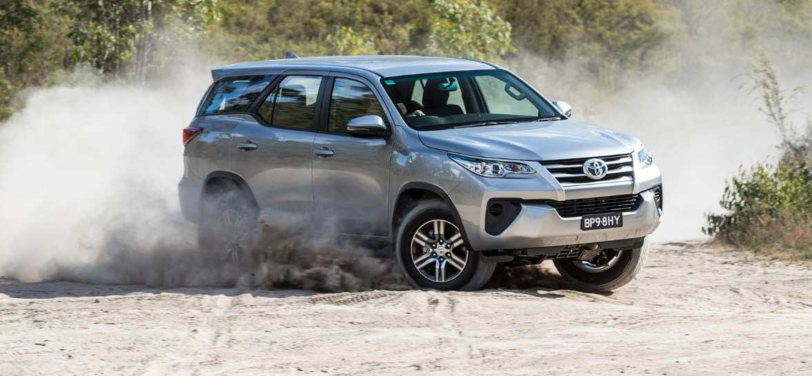 23 A Fortuner Toyota 2019 Exterior And Interior