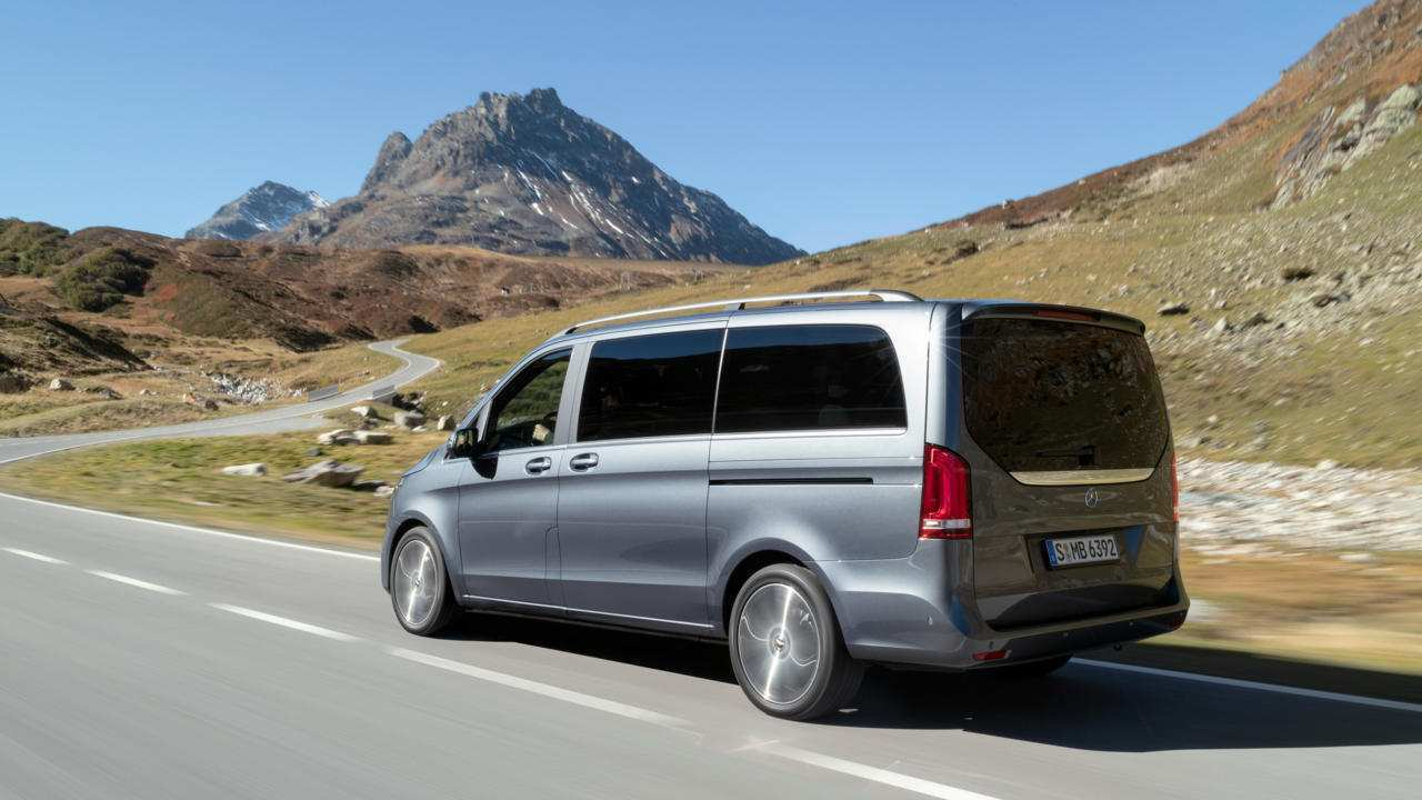 23 A Mercedes V Klasse 2019 Performance And New Engine