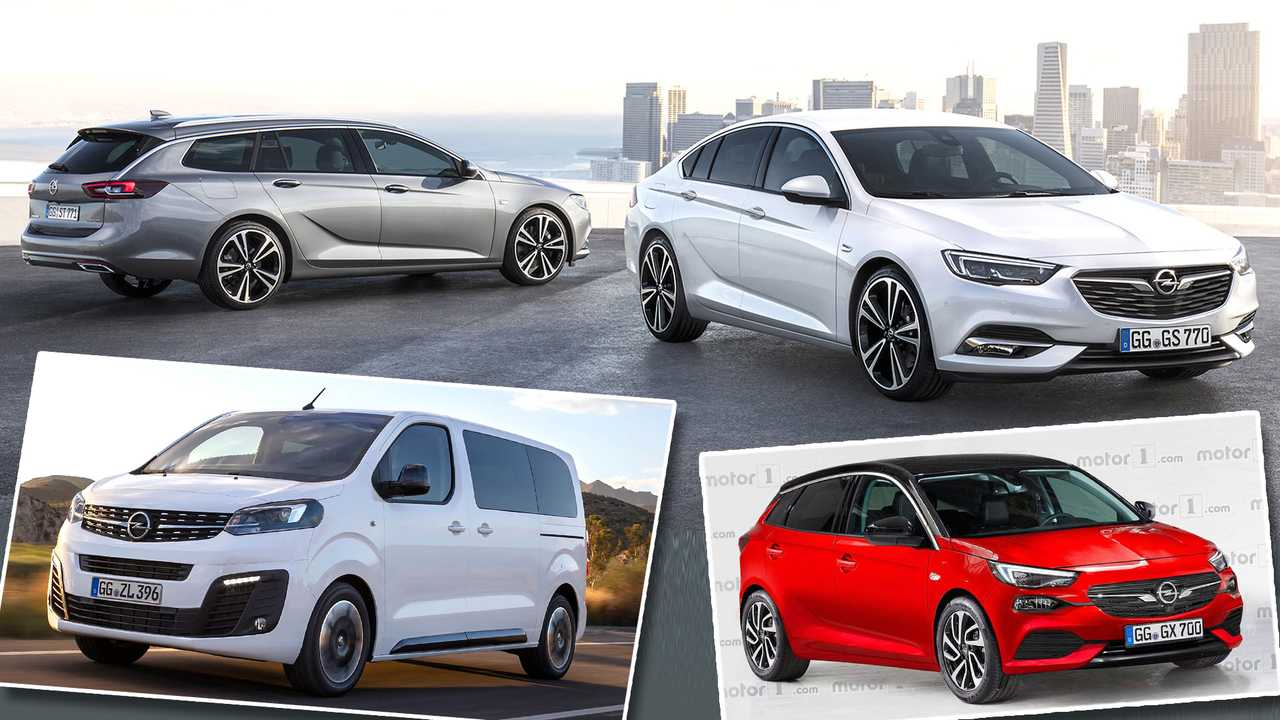 23 A Opel Modelle Bis 2020 History