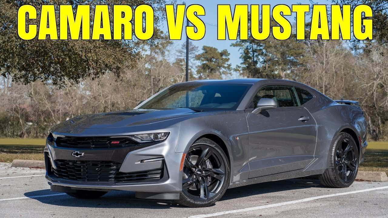 23 All New 2019 The Camaro Ss Concept and Review