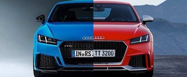 23 All New 2020 Audi Tt Rs Spesification
