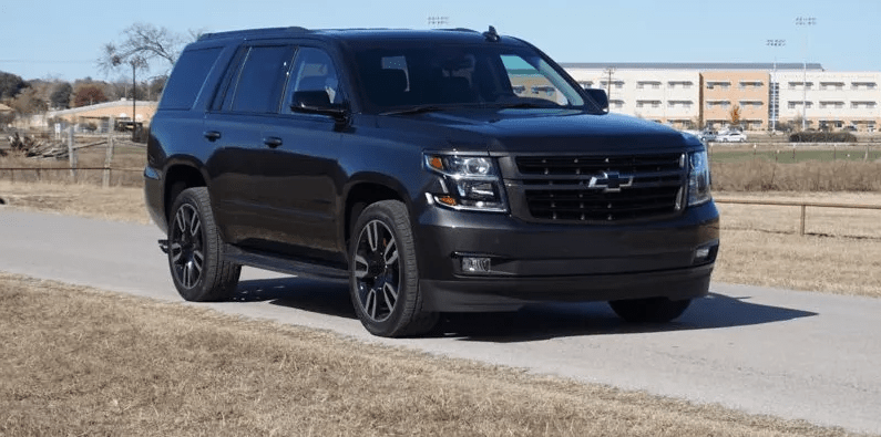 23 All New 2020 Chevy Tahoe Ltz Exterior