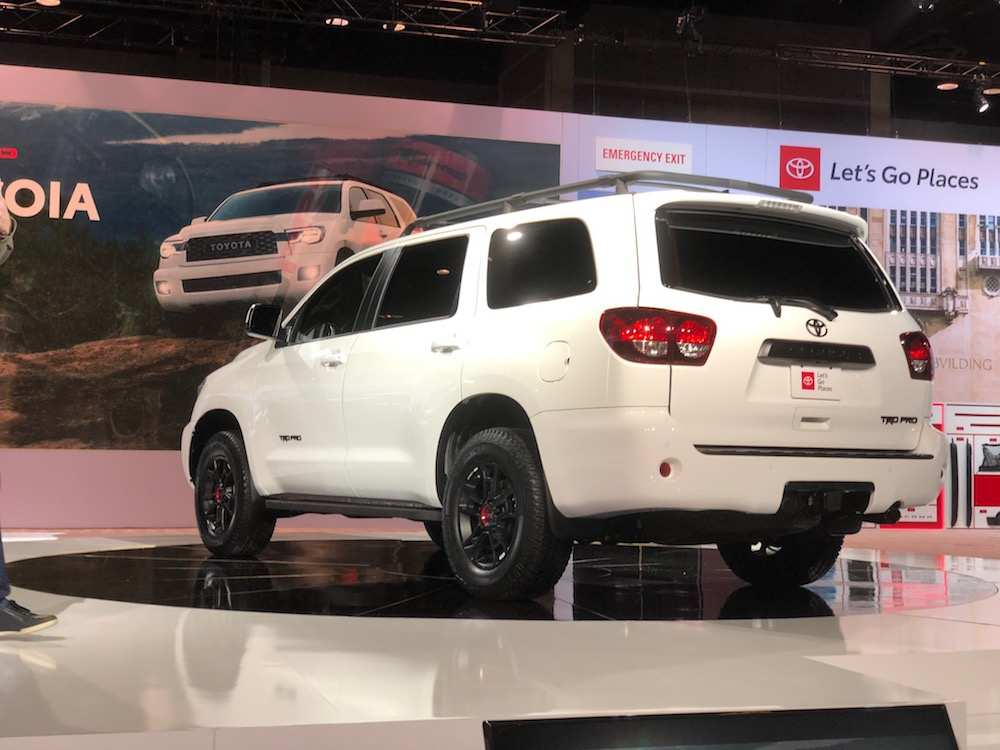 23 All New 2020 Toyota Sequoias New Model And Performance