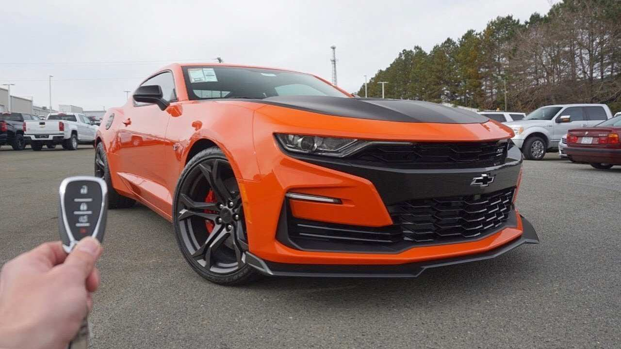 23 New 2019 Chevy Camaro Performance And New Engine