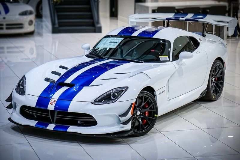 23 New 2019 Dodge Viper ACR History