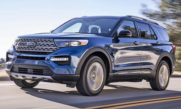 23 New 2019 The Ford Explorer Specs And Review