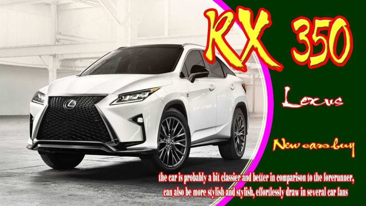 23 New 2020 Lexus TX 350 Performance And New Engine