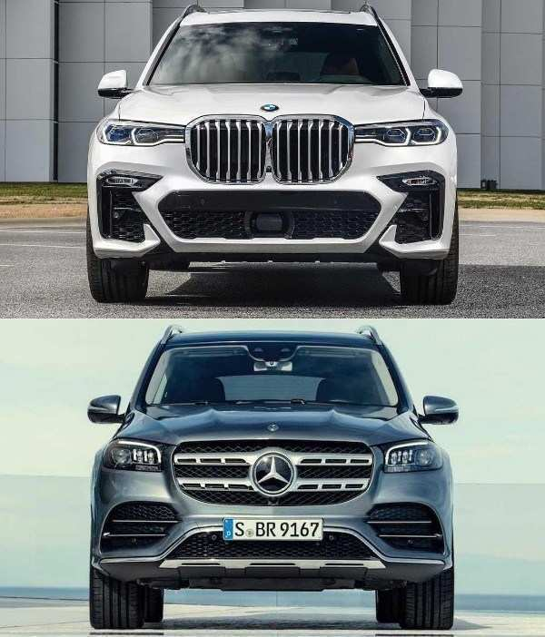 23 New BMW X7 Vs Mercedes Gls 2020 Performance And New Engine