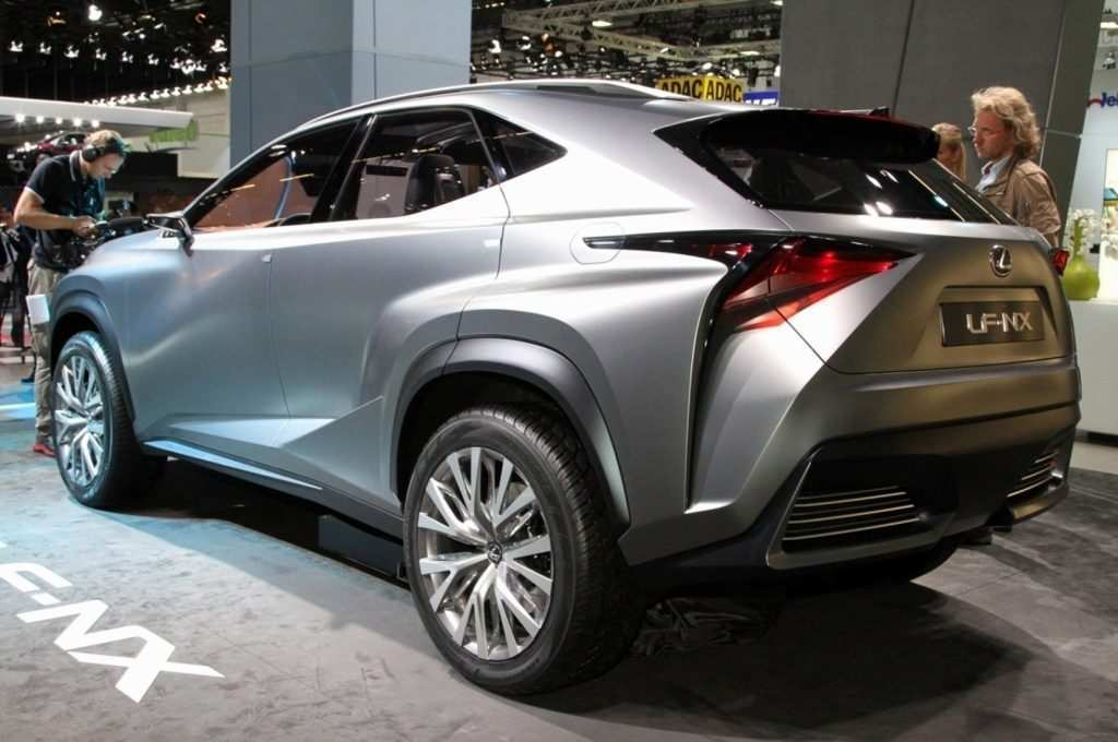 23 The 2019 Lexus NX 200t Spy Shoot