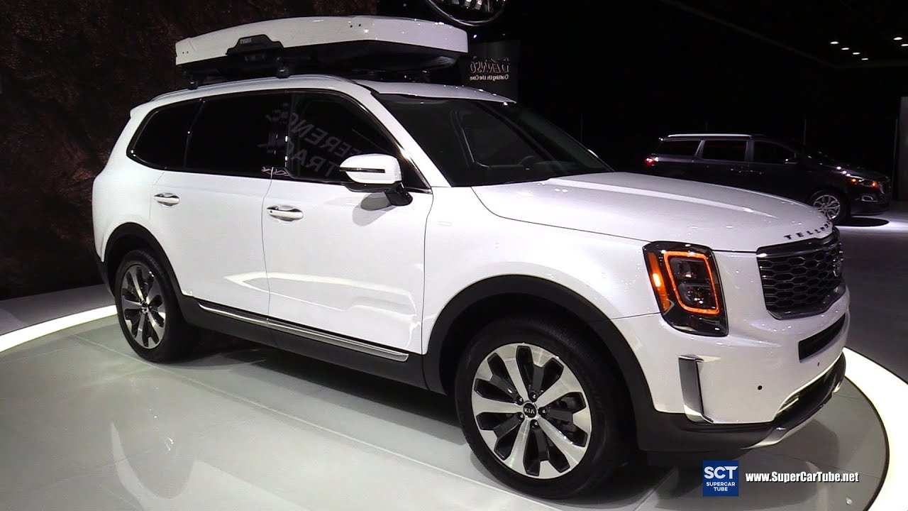 23 The 2020 Kia Telluride White Overview