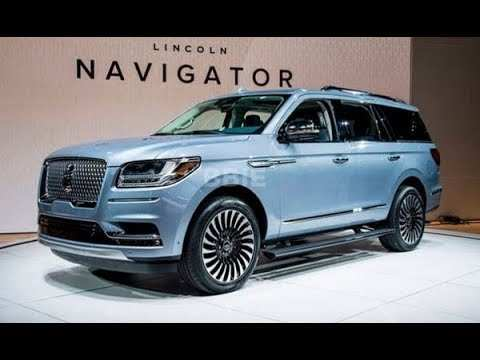 23 The 2020 Lincoln Navigator Model