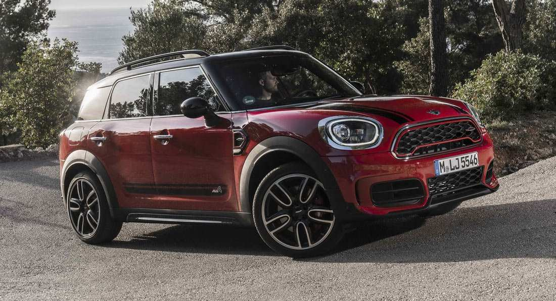 23 The 2020 Mini Cooper Clubman Speed Test