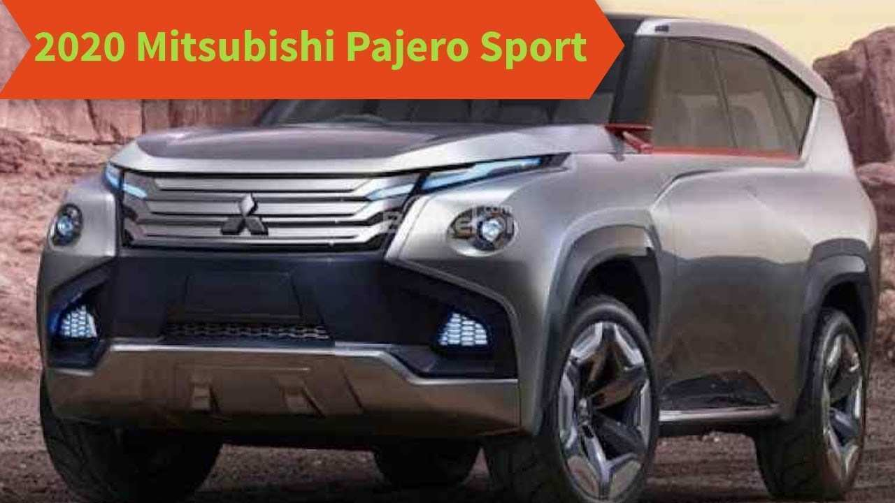 23 The 2020 Mitsubishi Montero Sport Wallpaper