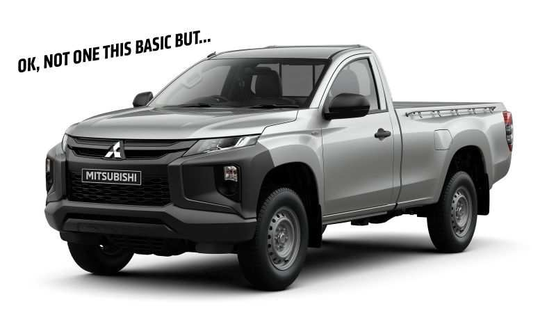 23 The Mitsubishi Truck 2020 First Drive