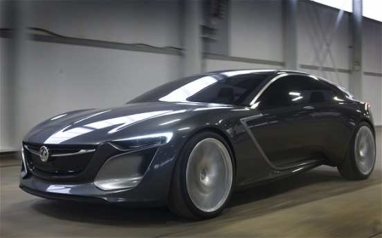 23 The Opel Monza 2020 Model
