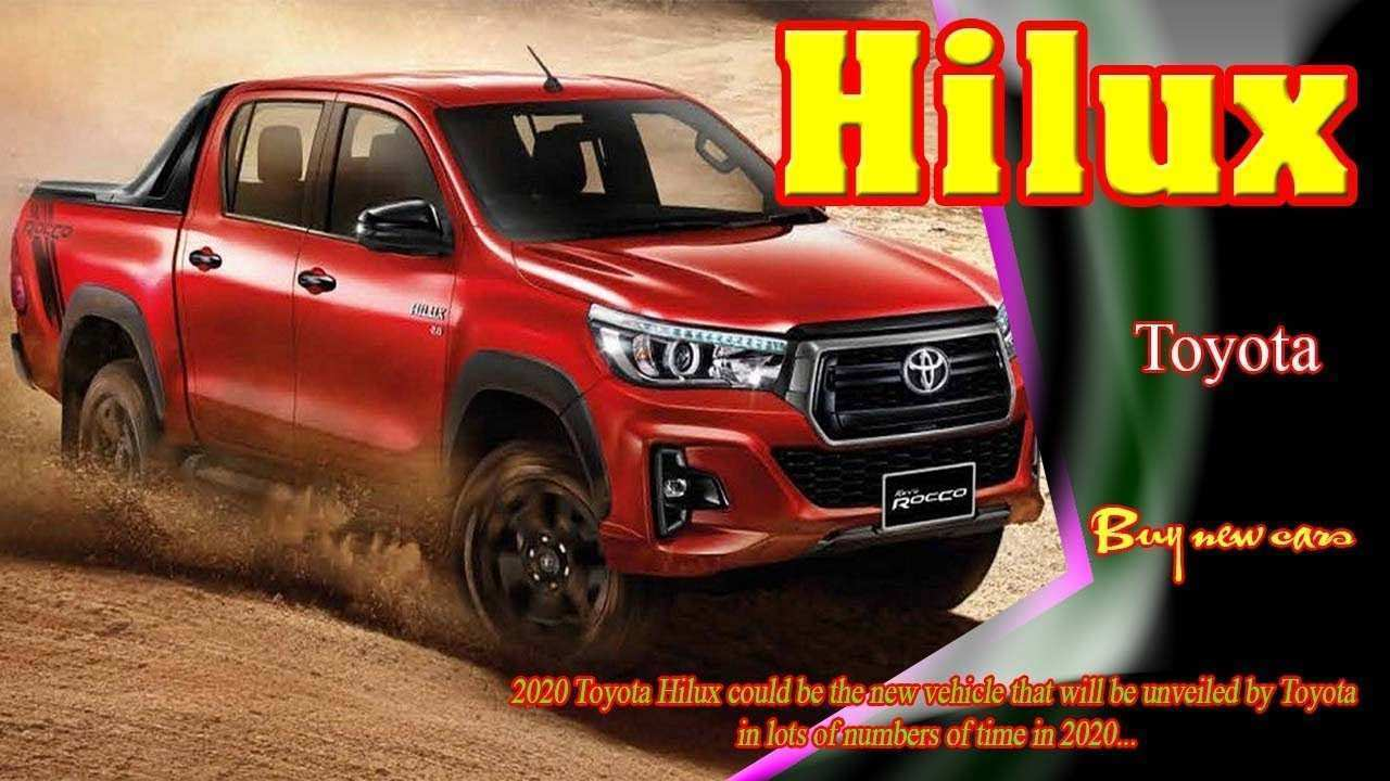 23 The Toyota Hilux 2020 Picture