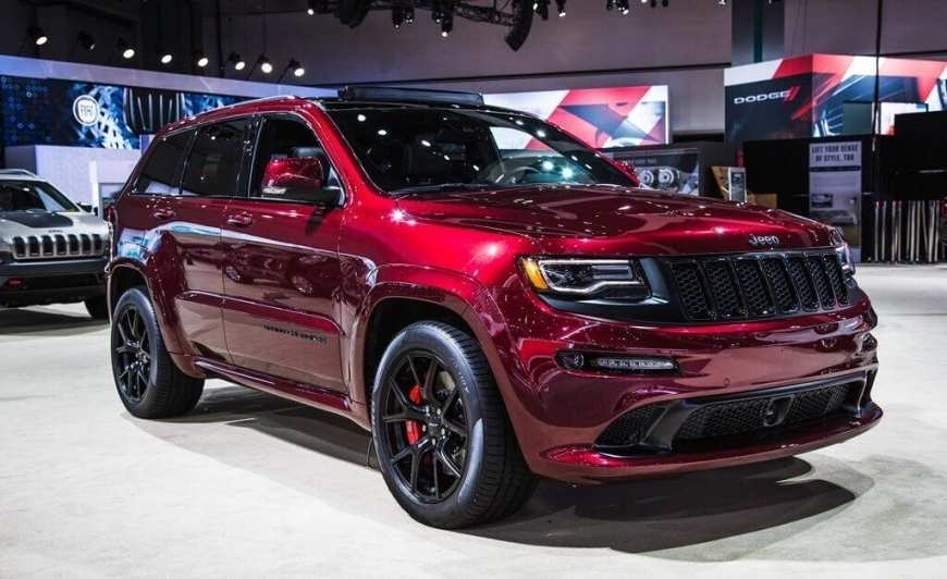 24 A 2019 Jeep Grand Cherokee Srt8 Spy Shoot