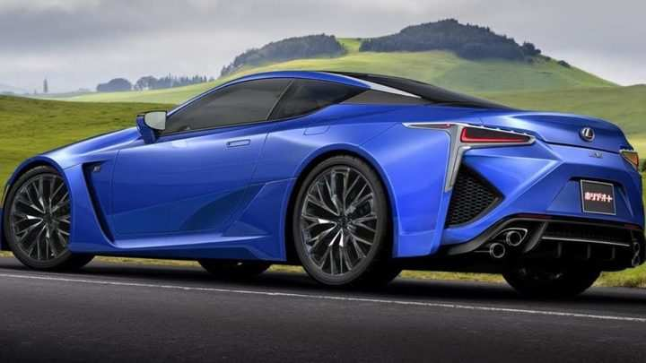 24 A 2019 Lexus Lf Lc Concept And Review