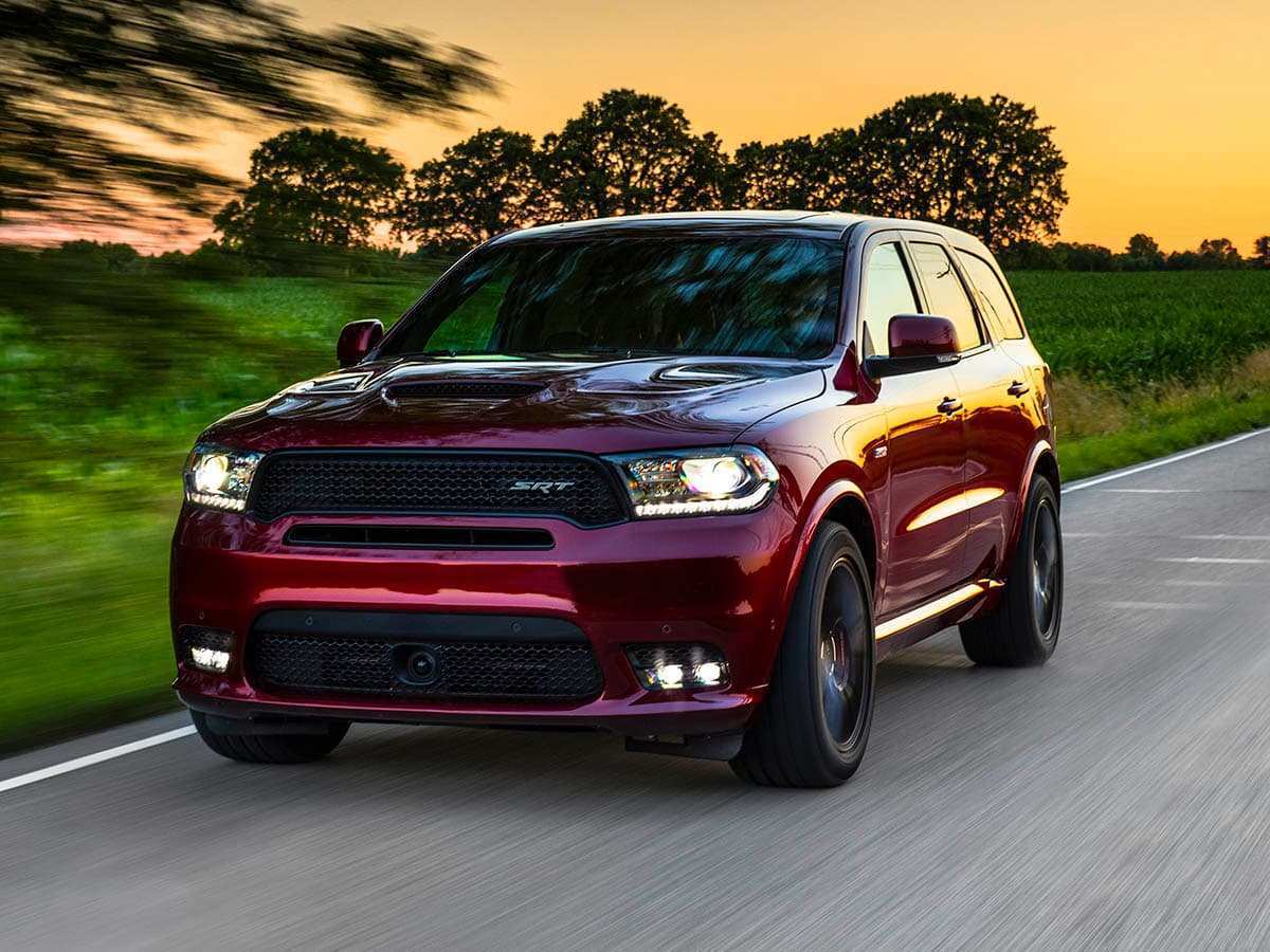 24 A 2020 Dodge Durango Diesel Srt8 Interior
