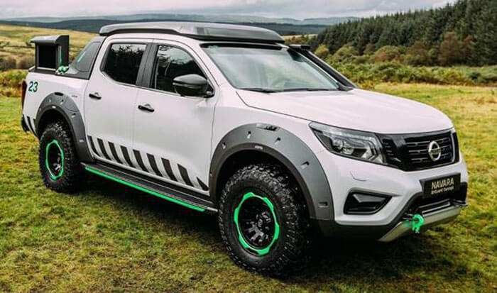 24 A 2020 Nissan Navara Spy Shoot