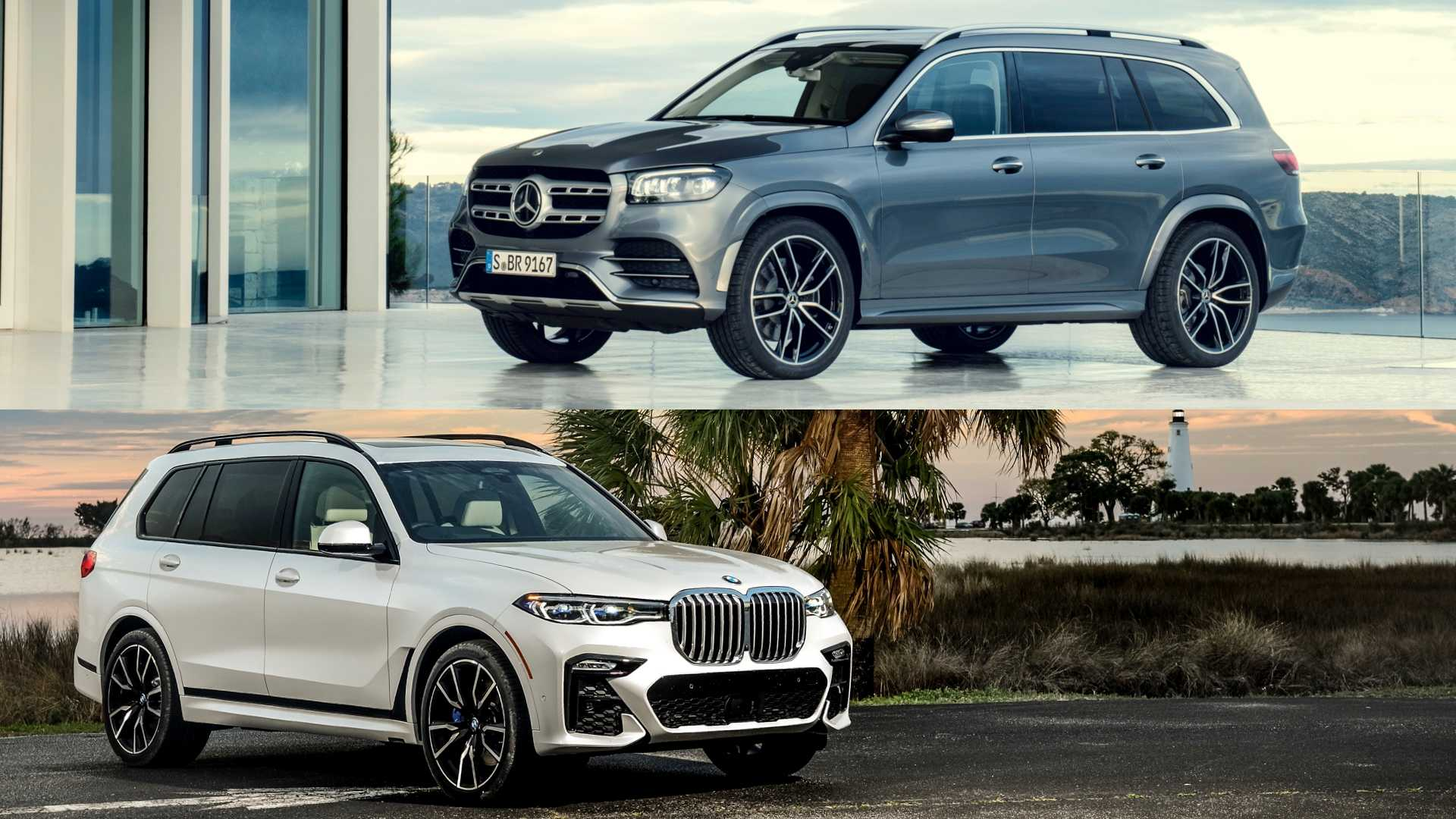 24 A BMW X7 Vs Mercedes Gls 2020 Pictures