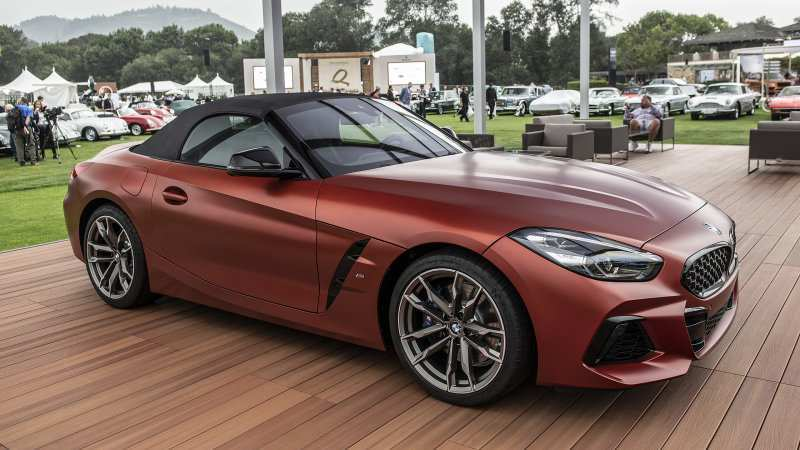 24 All New 2019 BMW Z4 Roadster Review And Release Date