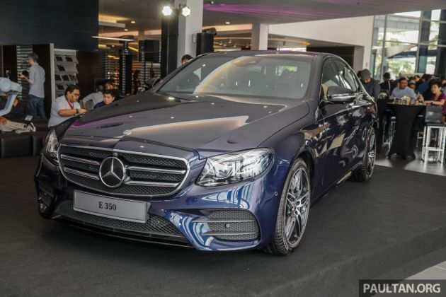 24 All New 2019 Mercedes Benz E Class First Drive
