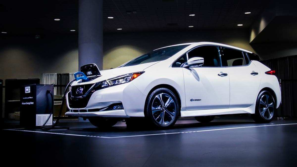 24 All New 2019 Nissan Leaf Redesign And Review