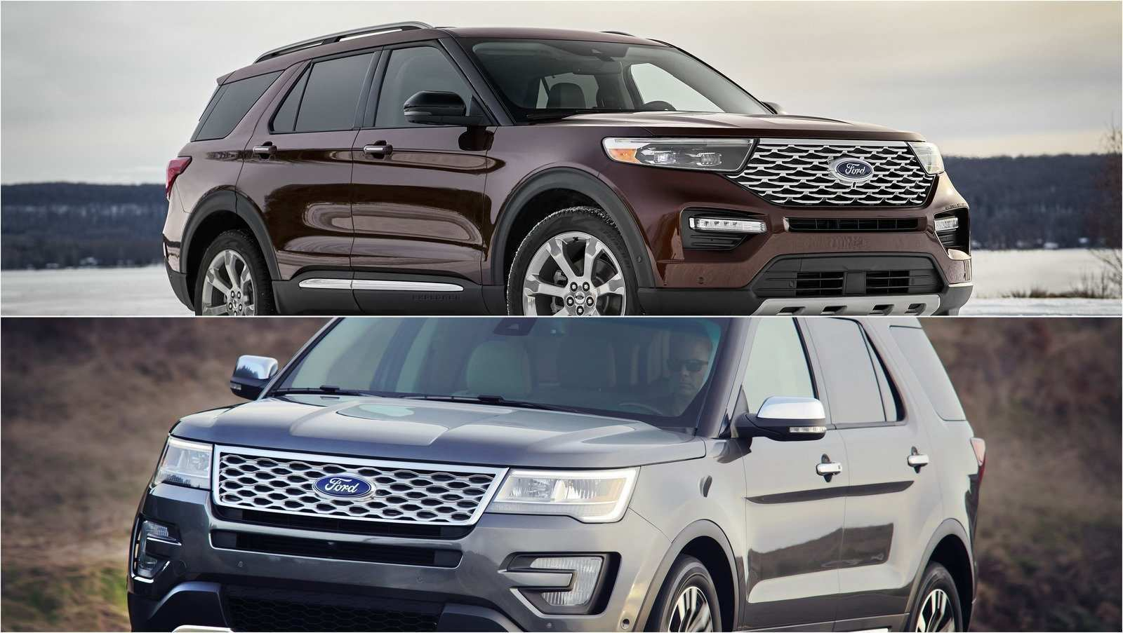 24 All New 2020 Ford Explorer Job 1 Style