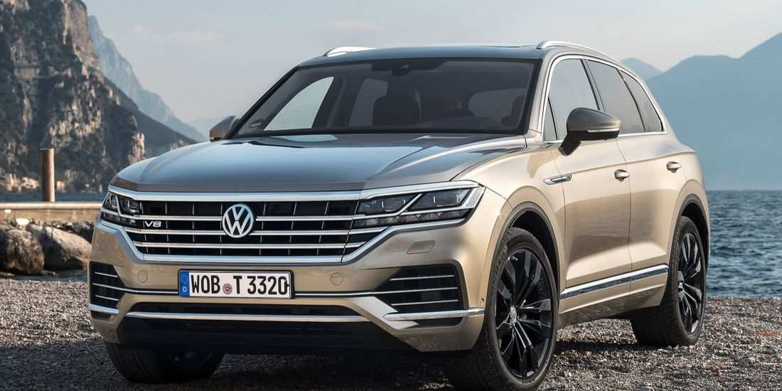 24 All New Touareg Vw 2019 Interior