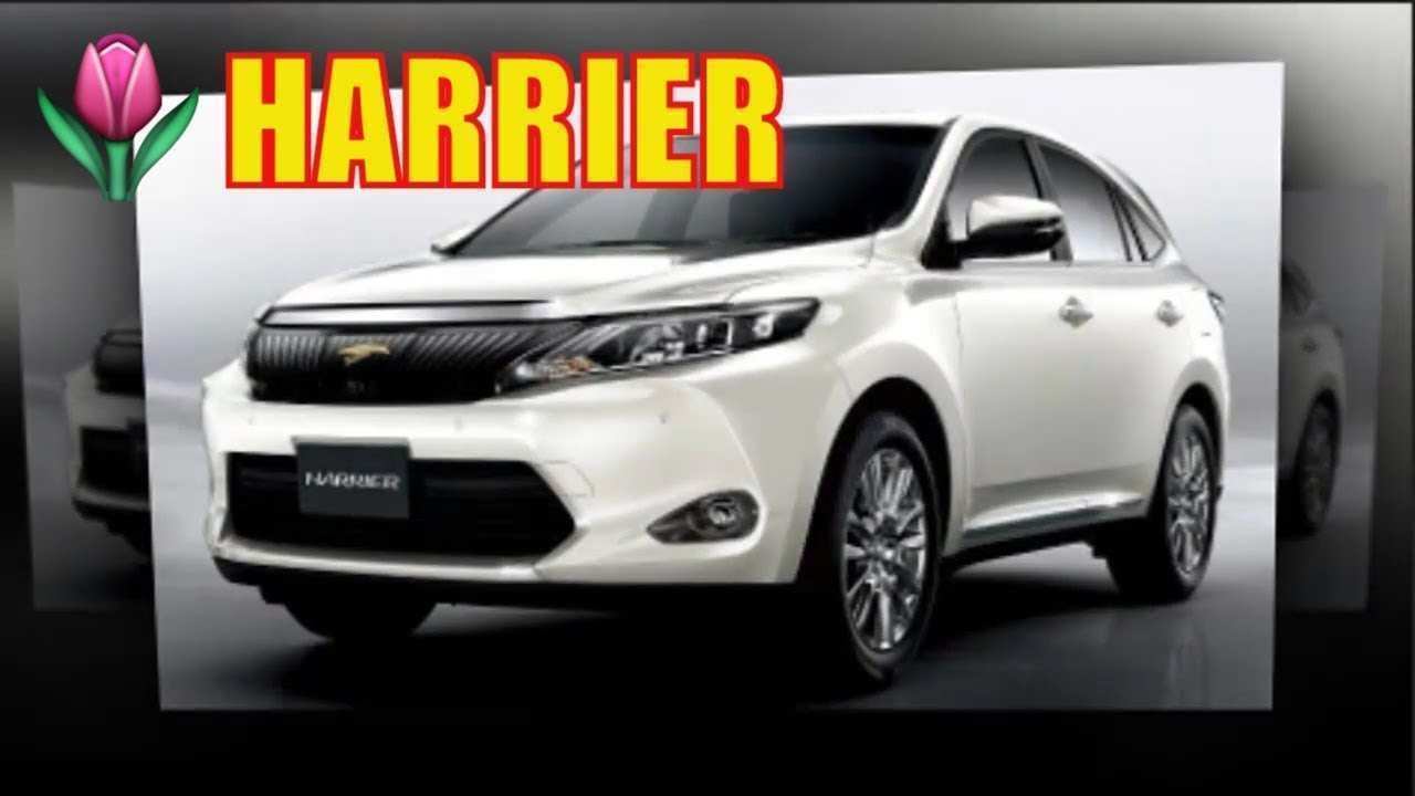24 All New Toyota Harrier 2020 Configurations