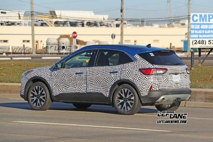 24 New Ford Kuga 2020 Spy Shots Pictures