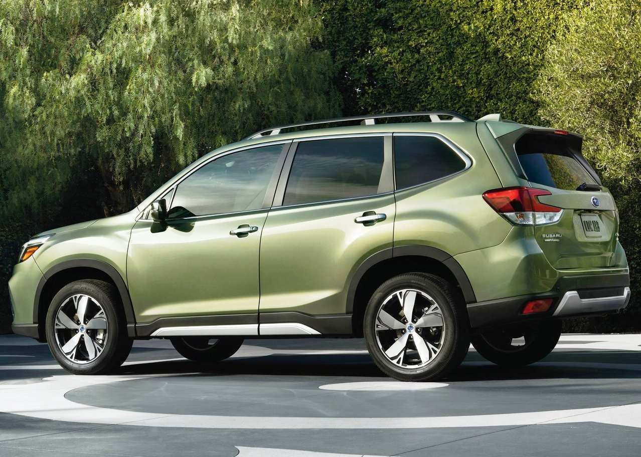 24 The 2020 Subaru Forester History