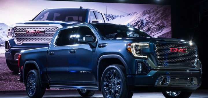 24 The Best 2019 GMC Sierra 1500 Spy Shoot