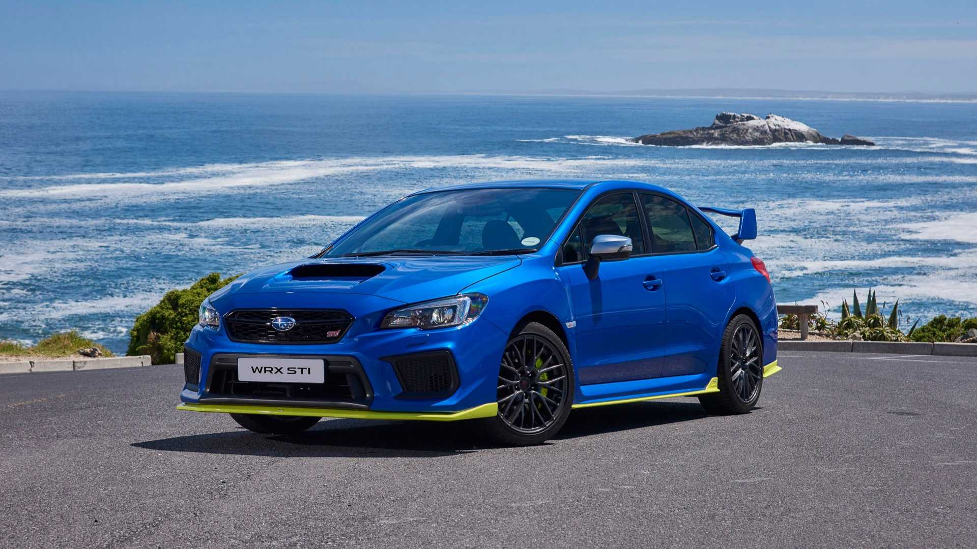 24 The Best 2019 Subaru Hatchback Sti Performance And New Engine