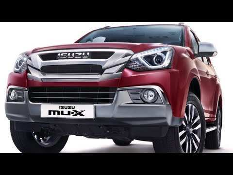 24 The Best 2020 Isuzu MU X Spesification