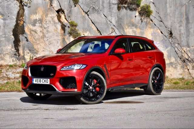 24 The Jaguar F Pace Svr 2020 Concept