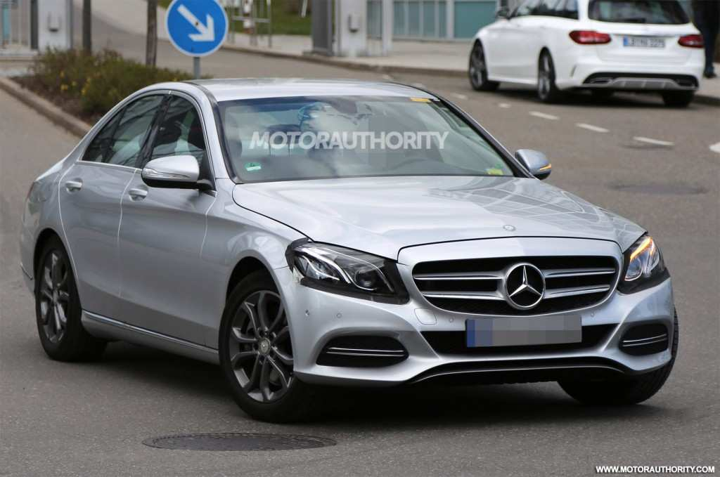 24 The Mercedes Benz C Class Facelift 2019 Photos
