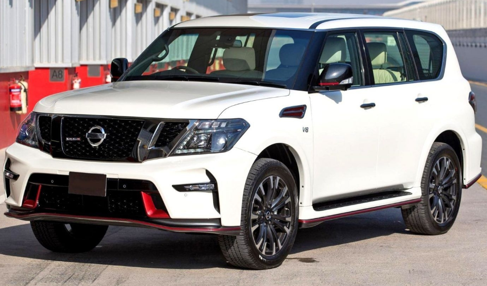 24 The Nissan Patrol 2020 Speed Test
