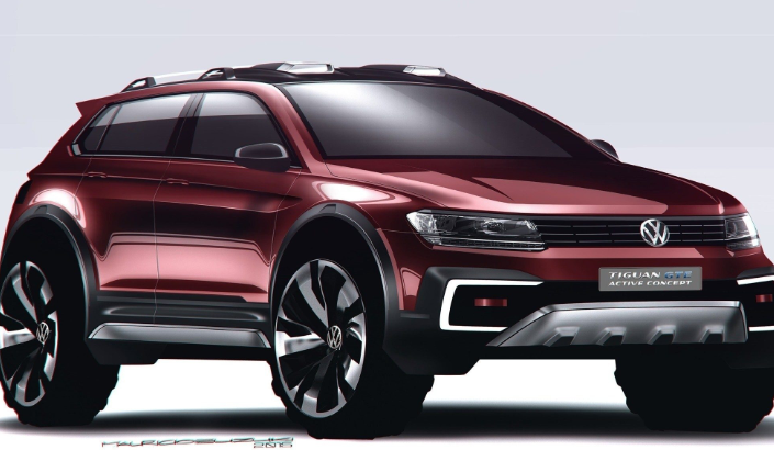 24 The Volkswagen Tiguan Hybrid 2020 Style