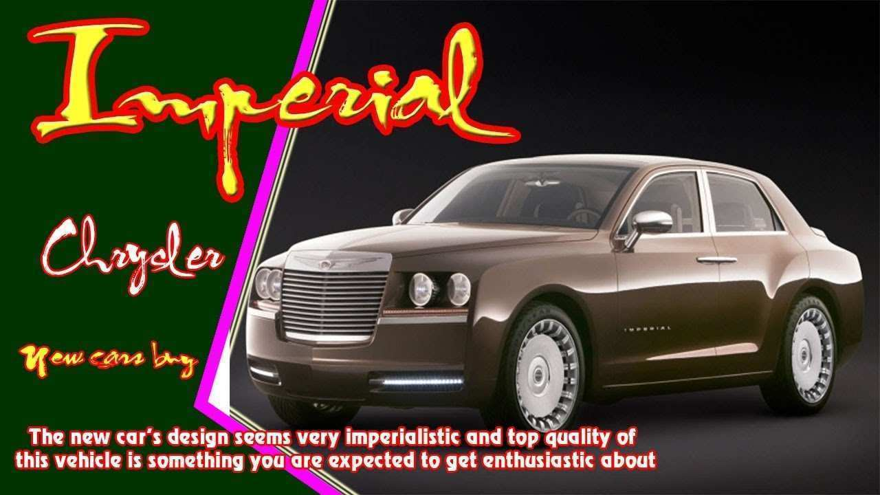25 A 2019 Chrysler Imperial Interior