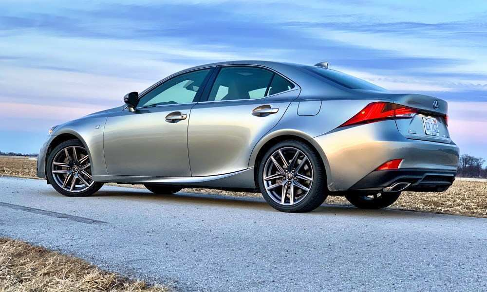25 A 2019 Lexus IS350 History